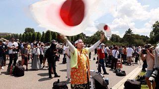 Japanese Olympic superfan Kyoko Ishikawa