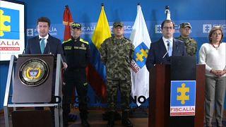 El ministro de Defensa de Colombia y el fiscal general Francisco Javier Barbosa centraron sus acusaciones en Venezuela