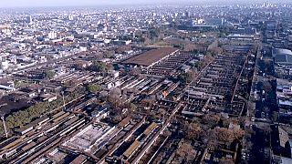 Der traditionsreiche Liniers Rindermarkt von Buenos Aires, ein 33 Hektar Areal mitten in der Stadt