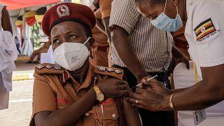Hundreds of Ugandans given fake Covid jabs: health officials