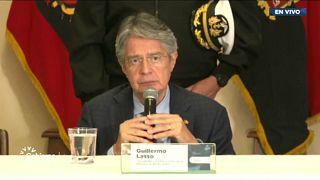 El presidente ecuatoriano Guillermo Lasso se hamostrado dispuesto a acabar con las bandas organizadas