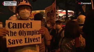 Διαδηλώσεις κατά των Ολυμπιακών Αγώνων