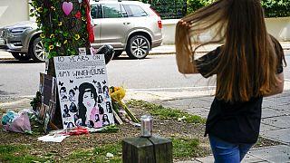 Vor dem Haus in London, in dem Amy Winehouse vor 10 Jahren gestorben ist