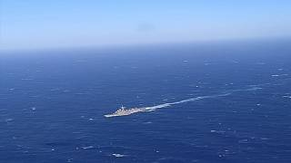 Two Turkish ships and a plan were involved in the search and rescue operation.