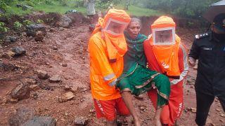 انزلاقات التربة تقتل 36 في الهند وتترك العشرات في عداد المفقودين