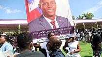 Body of slain Haitian president arrives in hometown for private funeral service