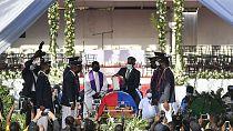 Haïti : debut des funérailles du président assassiné Jovenel Moïse