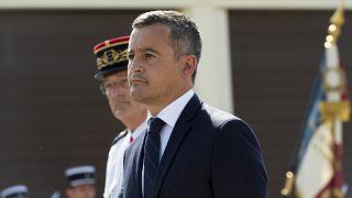 وزير الداخلية الفرنسي جيرالد دارمانان في أمبرت. 2021/07/22