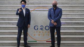 G20 del medioambiente en Nápoles, Italia.
