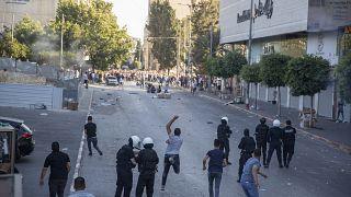 من مظاهرات خرجت في الضفة الغربية في حزيران/يونيو الماضي