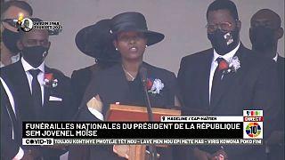 La veuve du président Moïse, assassiné le 7 juillet