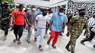 Nigeria : dix pirates condamnés à 12 ans de prison