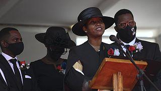Haïti : la Première dame rend hommage à son époux Jovenel Moïse