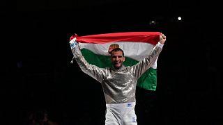 Szilágyi Áron ismét megvédte olimpiai bajnoki címét a férfi kardozók egyéni versenyének döntőjében a tokiói nyári olimpián.