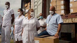 مساعدات طبية إلى كوبا