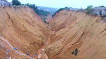Soil erosion leaves trail of devastation in Congo