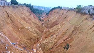 Congo : les érosions font des ravages