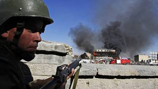 Kabil'de Afgan askeri (arşiv)