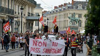 Kundgebung in Orléans