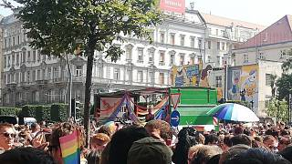 A budapesti Madách térről indult a tömeg
