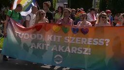 Παρέλαση Υπερηφάνειας στη Βουδαπέστη
