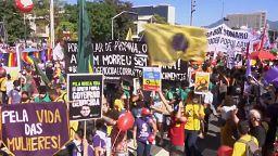 Διαδηλώσεις κατά Μπολσονάρο