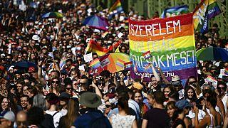 Budapeşte Onur Yürüyüşü: Orban'ın LGBTQ+ politikaları protesto edildi
