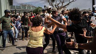 Küba'da iktidar karşıtı eylemler