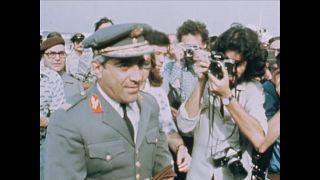 Otelo Saraiva de Carvalho llega a Lisboa el 30/7/1975