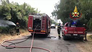 Italie : Une partie de la Sardaigne est toujours en proie aux flammes