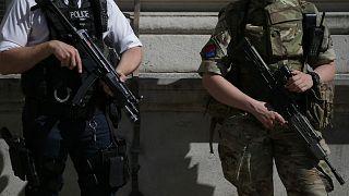 İngiliz güvenlik güçleri / Arşiv