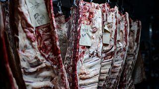 مخزن للحوم في اوروبا
