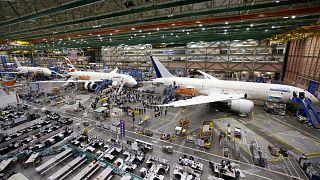 مصنع طائرات بوينغ