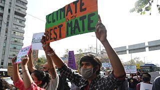 مظاهرة من أجل حماية البيئة نيودلهي، الهند، 19 مارس 2021