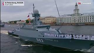 Russia - Navy Day parade