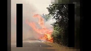 Emergenza incendi in Sardegna