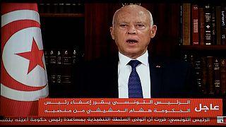 Tunisie : le président Kaïs Saïed prend la tête de l'exécutif