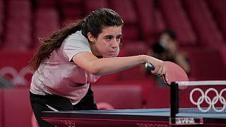 نوجوان ۱۲ ساله سوری با پذیرش شکست در مقابل حریف ۳۹ ساله اتریشی از مسابقات المپیک کنار رفت
