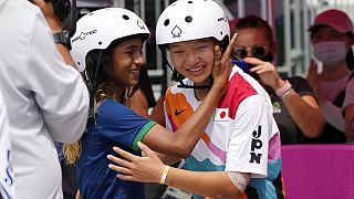 13χρονη χρυσή Ολυμπιονίκης στο skateboarding