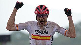 David Valero, medalla de bronce de ciclismo de montaña
