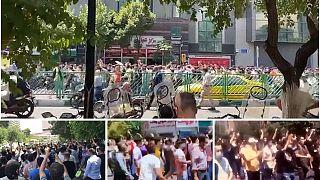 تظاهرات ضد حکومتی در تهران