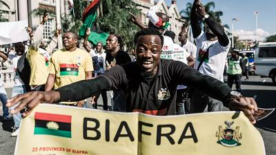 Nnamdi Kanu, an adamant pro-Biafra leader who spoke for his people