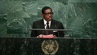Ekvator Ginesi Devlet Başkan Yardımcısı Teodoro Obiang