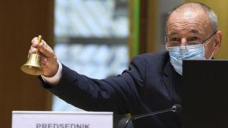 أندريه سيرسيلي، وزيرمالية سلوفينيا
