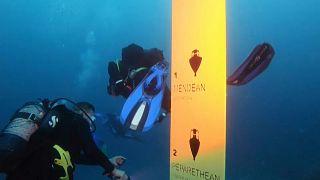 Im Unterwassermuseum vor Peristera in der Ägäis