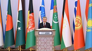 """President Shavkat Mirziyoyev at the International Conference """"Central and South Asia: Regional Connectivity. Challenges and Opportunities"""""""