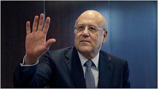 رجل الأعمال اللبناني الثري ورئيس الوزراء السابق نجيب ميقاتي