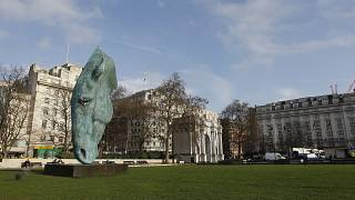 Marble Arch, pictured in London's Hyde Park, is just opposite from Speakers' Corner.