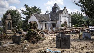 Der Friedhof in Bad Neuenahr-Ahrweiler, Rheinland-Pfalz