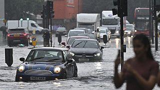 Inundación en Londres